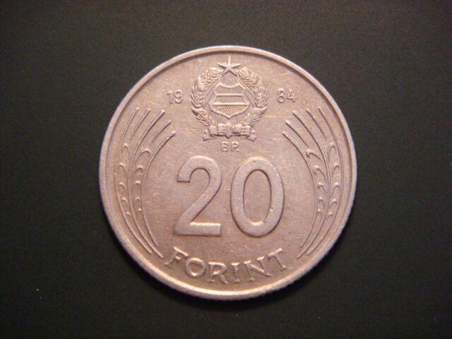 Hungary 20 Forint, 1984, György Dózsa