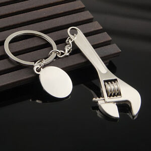 Popular-Car-Home-Alloy-Wrench-Keychain-Beauty-Cute-Spanner-Accessories