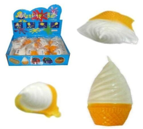 12 SPLAT ICE CREAM TOYS birthday party items NEW squishy novelty toy balls NV875