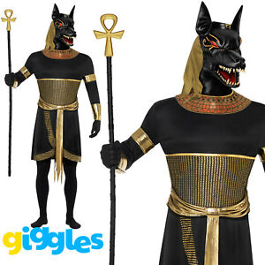 image is loading mens anubis costume egyptian god the jackal adult