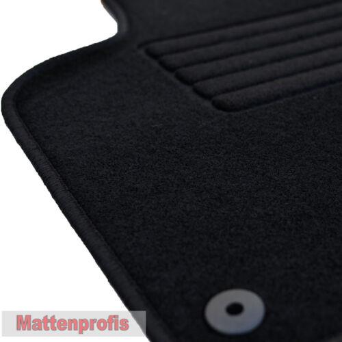 Mattenprofis Velours Fußmatten für VW T6 Pritsche 3-Sitz vorn ab Bj 04//2015