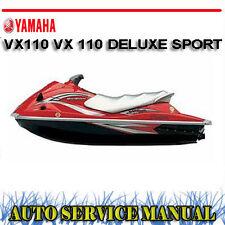 yamaha jetski waverunner vx110 vx 110 deluxe sport workshop service manual rh ebay com au yamaha vx 110 service manual pdf yamaha vx110 free service manual