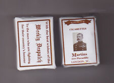 SET OF 2 WW1 KITCHENER (WEEKLY DESPATCH) DUMMY GIGARETTE PACKETS(REPRO)