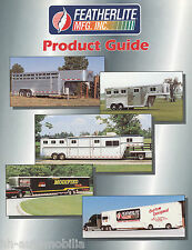Prospekt Featherlite Anhänger Product Guide brochure trailers USA 1997