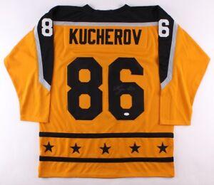 Nikita Kucherov Signed 2017 All-Star Game Jersey (JSA COA) Lightning ... 59f37bd7e