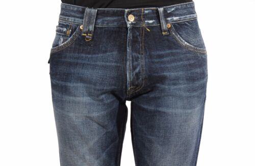 Jeans uomo CYCLE MPT170 D1079 2881 Denim Cotone 11OZ Real Indaco LISTINO 199€
