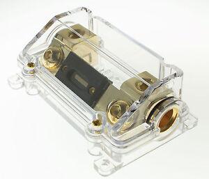 0 gauge anl fuse holder 1 0 gauge car amplifier fuse holder free rh ebay com car amplifier fuse size car amplifier fuse keeps blowing