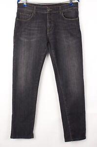 TRUSSARDI JEANS Hommes Slim Jambe Droite Extensible Taille 49 (W34 L30) BBZ466