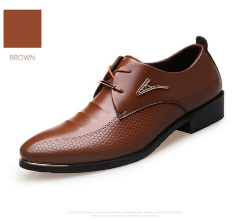 New Hot Fashion Men Dress Shoes Mens Genuine Leather Shoes Zapatos Hombre Gold