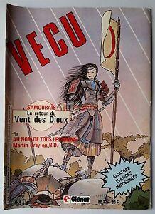 VECU-n-12-de-1985-Samourais-le-retour-du-vent-des-dieux