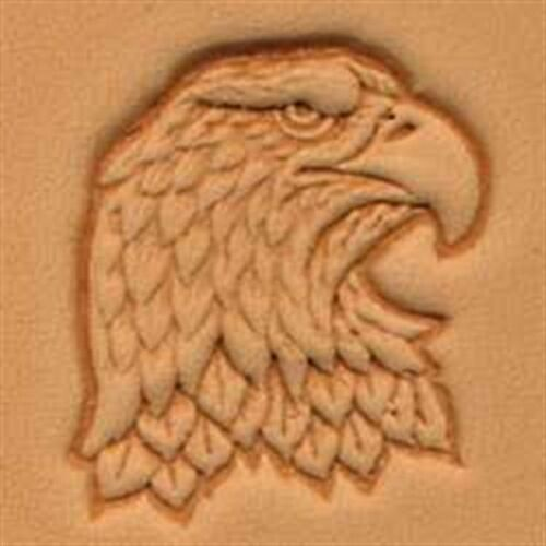 8344 Eagle Head Craftool 3-D Stamp Tandy Leather 88344-00 Right