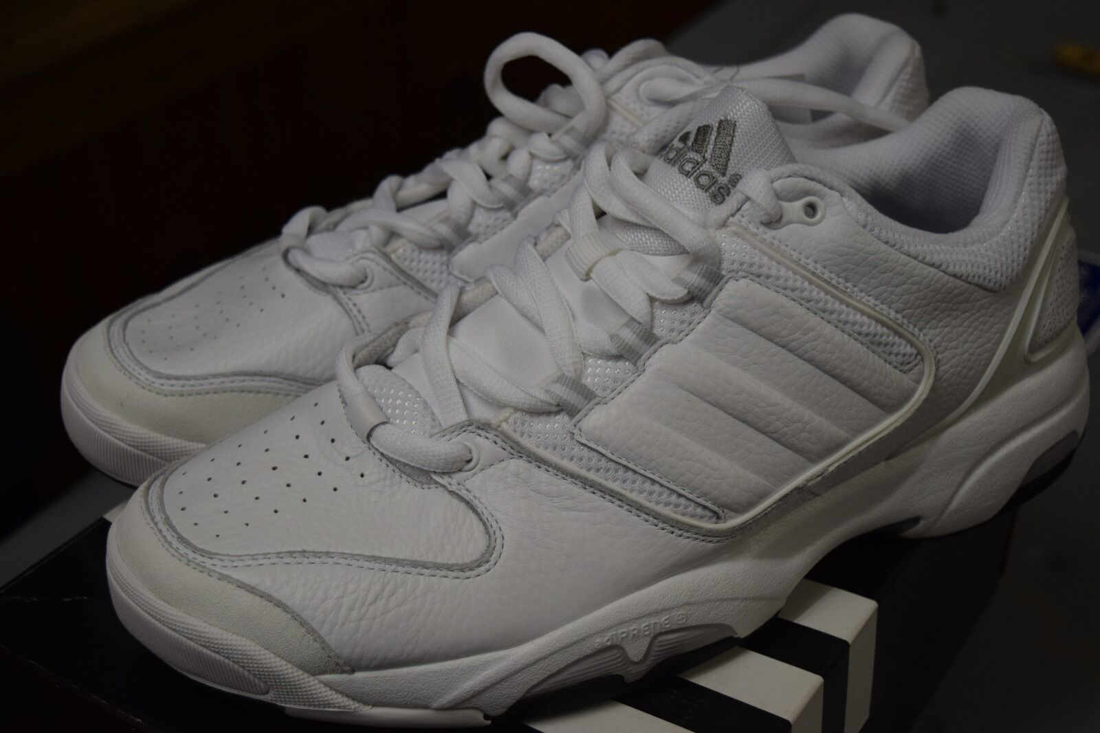 89b3d33c0b1a Adidas Adidas Adidas To Amenity Weiß Weiß Tennis schuhe Sz 13 a84884 ...