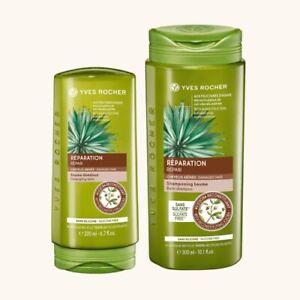 Yves-Rocher-Shampoo-300ml-e-200ml-Balsamo-Nutri-Riparatore-Set-NUOVO