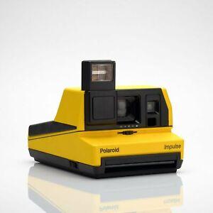 Polaroid-Yellow-Impulse-600-Camera