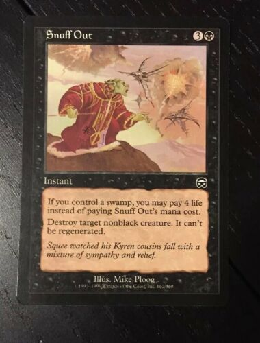 1x Snuff Out MTG Mercadian Masques