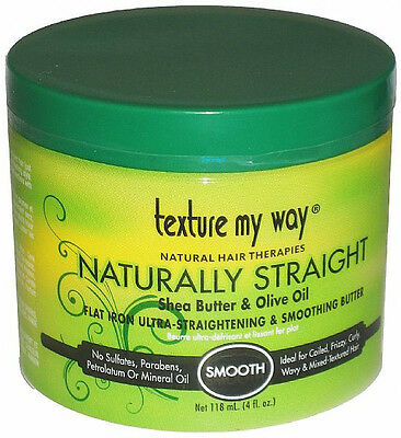 Texture My Way Naturally Straight Flat Ultra-Straightening & Smoothing Butter