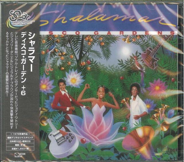 SHALAMAR-DISCO GARDENS-JAPAN CD BONUS TRACK D86