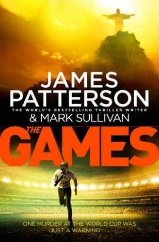 1 of 1 - THE GAMES by James Patterson & Mark Sullivan, NEW, LARGE BOOK, FREE POSTAGE