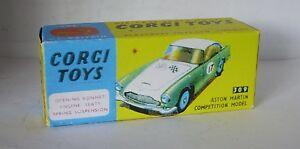 Repro-Box-Corgi-Nr-309-Aston-Martin-Competition-Model