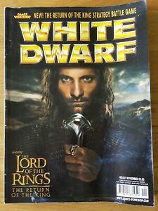 Avoir Un Esprit De Recherche White Dwarf #287. Free P&p.-afficher Le Titre D'origine