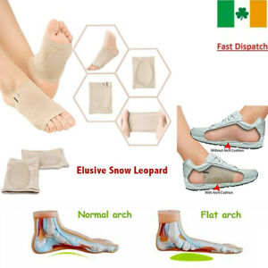 2-PCS-Silicone-Gel-Plantar-Fasciitis-Orthotic-Foot-Arch-Support-Shoe-Sock