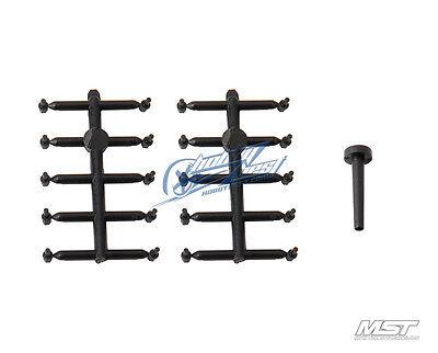 MST Wheel bolt (black) 820033BK New