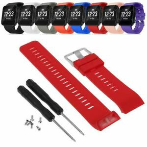 For-Garmin-Forerunner-35-Watch-Silicone-Replacement-Wrist-Band-Strap-With-Tools