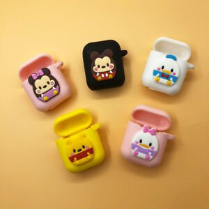 best service 72399 d622a Details about Korean Cute Cartoon AirPods Silicone Case Cover for Apple  Airpod Charging Case