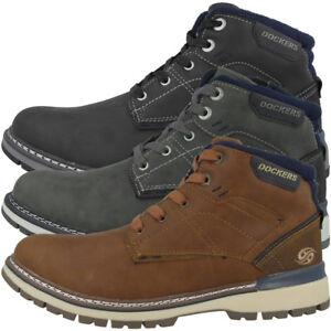 Dockers By Gerli 43ad001 Herren Boots Schuhe Stiefeletten Schnürschuhe Stiefel