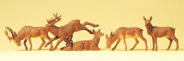 Preiser  14179 Stags And Deer 1:87