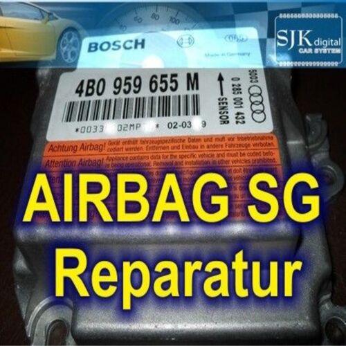 +++ Opel Astra Combo Vectra Meriva Signum Corsa Airbag Dispositif de commande réparation
