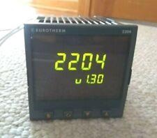 Eurotherm 2204 Cc Vh Rh Rc Rf Xx Xxxxeng Temperature Controller