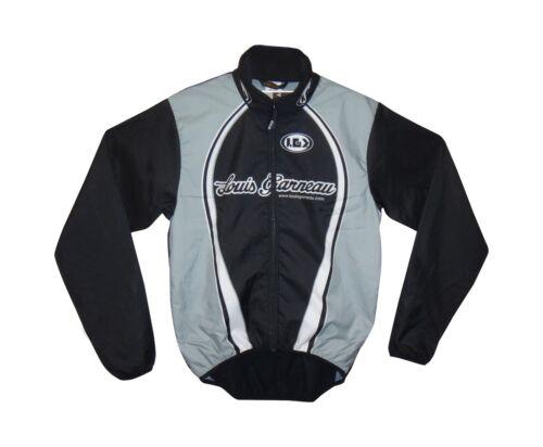 new Louis Garneau Neo Pro men/'s wind jacket cycling microzone high collar black