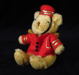 The-Teddy-Bear-Collection-Plush-034-Barney-the-Bellboy-034-Soft-Toy-Magazine-Issue-7