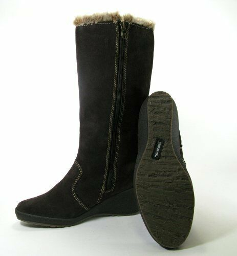 LONDON FOG LAUREN Braun Waterproof Suede Winter BOOTS Damenschuhe 9.5 NEW IN BOX