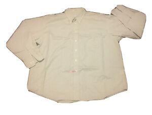 Joseph-amp-Feiss-Plaid-Checkered-Non-Iron-Dress-Shirt-Sz-2XL-Cotton-Long-Sleeve