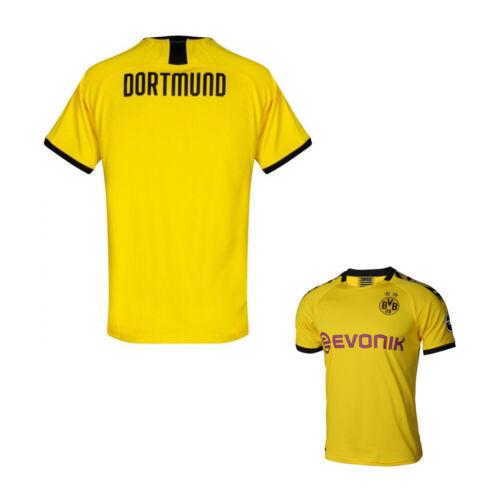 19//20 Football Club Yellow Home Kit Kids//Adult Jersey Strip Suits Shirt /& Shorts
