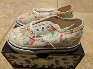 06cdc6f83017 Vans x Disney Ariel Print Little Mermaid World Princess Girls Kids ...