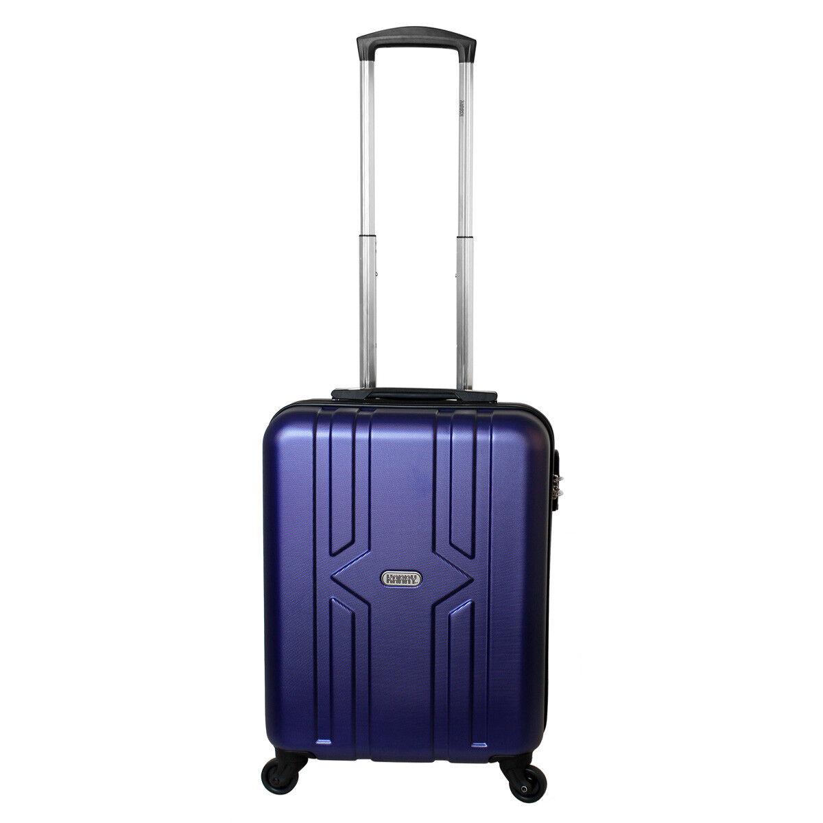 Bagages à Main Valise Rigide Voyage Trolley Cabine 30 Litre bleu 821