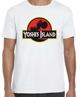 Yoshi Island T Shirt Inspired Funny Jurassic Park Top Tee