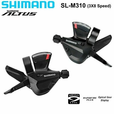 SHIMANO SL-M310 ALTUS RAPID FIRE 3 X 8 24-SPEED SHIFTER SET-NO OUTER HOUSING