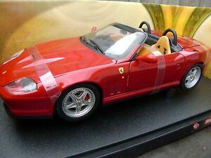 2002-HOT-WHEELS-1-18-RED-FERRARI-550-BARCHETTA-PININFARINA-ROADSTER-DIECAST-CAR