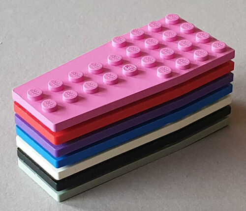 LEGO 2 x Platten Platte Flügelplatte Keilplatte 4x9 FARBE AUSWÄHLEN TOP