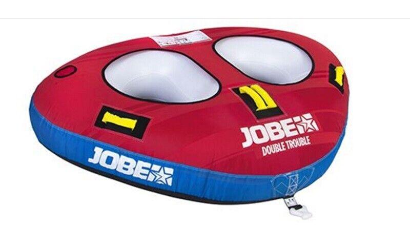 2019 Jobe Double Trouble Abschleppbar Abschleppbar Abschleppbar Aufblasbar, 2 Fahrer Rot 42648 21be9e
