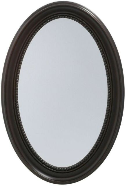 20 X 30 In Oval Bathroom Medicine Cabinet Recessed Surface Mount