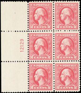 528-Mint-VF-NH-Plate-Block-of-Six-Stamps-Cat-175-00-Stuart-Katz