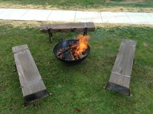 Bench-Seats-Recycled-Jarrah-Wharf-Timber-FIRE-PIT-Seating-750-Each