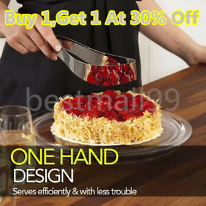 Stainless-Steel-Perfect-Cake-Slicer-Cutter-Serving-Kitchen-Utensils-Gadget-US