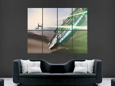 STAR WARS MILLENIUM FALCON ART  IMAGE  LARGE WALL POSTER PICTURE