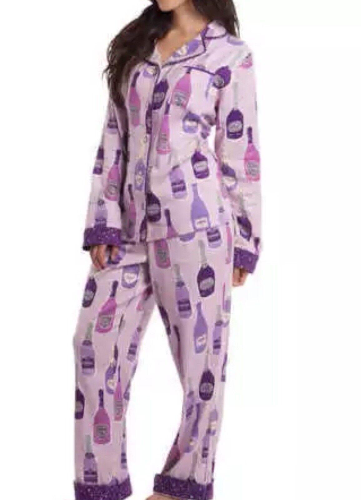 New Pink Flannel PJ's My Munki Munki 2 Piece Set